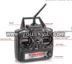 MJX-T55-parts-41 Remote control