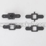 MJX-T57-parts-06 Upper main grip holder & Lower main grip holder
