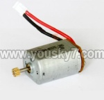 MJX-T57-parts-14 Main motor with long shaft and gear