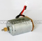 MJX-T57-parts-15 Main motor with short shaft and gear
