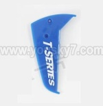 MJX-T57-parts-34 Verticall wing-Blue