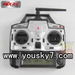MJX-X100-UFO-parts-08 2.4G Remote control