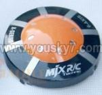 MJX-X200-UFO-parts-02 Head cover(Orange) I-heli X200 shuttle UFO