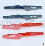 MJX-X200-UFO-parts-03 Main rotor blades(4pcs)-I-heli X200 shuttle UFO