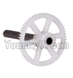 MJX X300 X300C parts-19 Main gear with hollow pipe(1pcs)