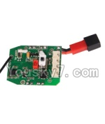 MJX X300 X300C parts-40 Circuit board,Receiver board