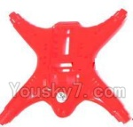 MJX X402 X402H Spare Parts-08 Bottom shell cover-Red