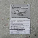 MJX X402 X402H Spare Parts-50 English Manual