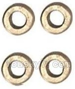 MJX X402 X402H Spare Parts-52 Copper sleeve,Copper ring(4pcs)