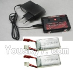 MJX X402 X402H Spare Parts-59 Upgrade charger and Balance charger-Can charge two battery at the same time