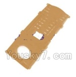 MJX X402 X402H Spare Parts-72 Battery Cover-Golden