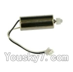 MJX X600 parts-24 Reversing-rotating Motor with Black and white wire(1pcs)