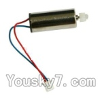MJX X600 parts-25 rotating Motor with red and Blue wire(1pcs)
