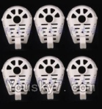 MJX X600 parts-34 Cover for the Motor seat(6pcs)-White