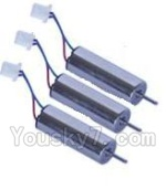 MJX X800 Parts-18 Rotating Motor with red and Blue wire(3pcs)