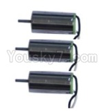MJX X900 Parts-17 Reversing-rotating Motor with White and black wire(3pcs)