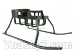 FODA F417 F-417 helicopter parts-05 Landing skid