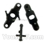 FODA F417 F-417 helicopter parts-28-Upper main grip set&Upper Head of the inner shaft
