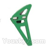 FODA F417 F-417 helicopter parts-37 Vertical wing(Green)