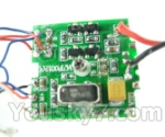 FODA F417 F-417 helicopter parts-39 Circuit board,Receiver board
