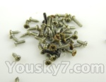 FODA F417 F-417 helicopter parts-52-Screws