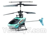 Mingji-301-helicopter-parts-62 BNF-Blue