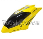 MingJi 812 Spare Parts-02 Head cover,Canopy-Yellow