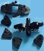 MingJi 812 Spare Parts-13 Upper and Bottom main blade grip set