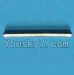MingJi 812 Spare Parts-16 Iron shaft for the Upper main blade grip set