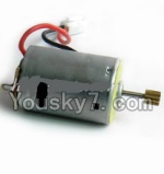 MingJi 812 Spare Parts-37 Main motor with long shaft and gear