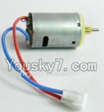 MingJi 812 Spare Parts-38 Main motor with short shaft and gear
