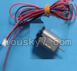 MingJi 812 Spare Parts-39 Tail motor and wire