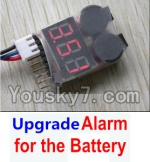 MingJi 812 Spare Parts-47 Upgrade Alarm for the Battery,Can test whether your battery has enouth power