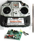 MingJi 812 Spare Parts-49 Transmitter ,Remote control with antena & Circuit board