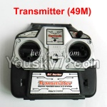 MingJi 812 Spare Parts-50 Transmitter ,Remote control(Frequency-49MHZ-Not include the Antena)