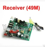 MingJi 812 Spare Parts-51 Circuit board,Receiver board(Frequency-49MHZ)