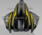 SH-6047-parts-03 Shell A-Yellow