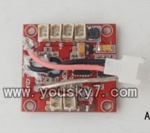 SH-6047-parts-17 Receiver board,Circuit board