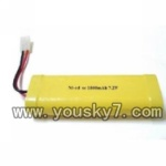 Shuang-Ma-7004-02 Battery NI-cd 1800mah battery 7.2v