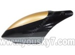 Skytech-M1-helicopter-01 Head cover(Black&Golden)