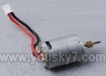 Skytech-M1-helicopter-16 Main motor with short shaft and gear