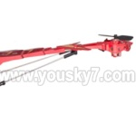 Skytech-M11-Parts-32 Whole tail unit-Red