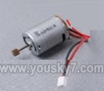 Skytech-M18-helicopter-17 Main motor with long shaft and gear