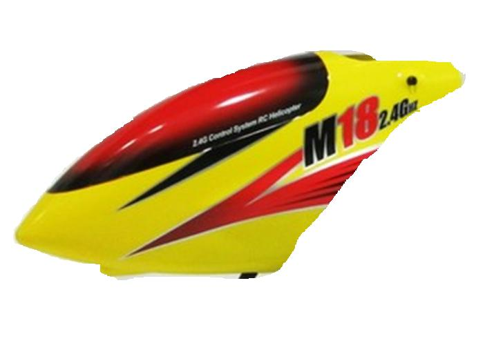 Skytech-M18-helicopter-35 Head cover(Yellow)
