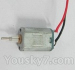 Skytech M23 M23A Parts-17 Motor A with short shaft and gear