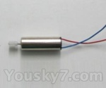 Skytech M35 parts-13 Main motor B with Long shaft and gear(blue and red wire)