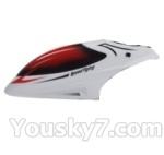 Skytech M36 parts-02 Head cover(Red & White)
