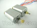 Skytech M36 parts-22 Main motor with long shaft and gear & Main motor with short shaft and gear
