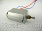 Skytech M36 parts-24 Main motor with short shaft and gear