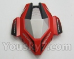 Skytech M60 Parts-01 shell,head cover(Red & Gray)
